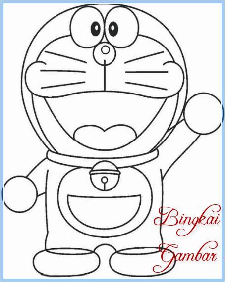 Unduh 40 Gambar Doraemon Mudah Digambar HD Terbaik