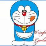 Sketsa Kartun Doraemon Berwarna
