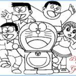 Sketsa Keluarga Doraemon