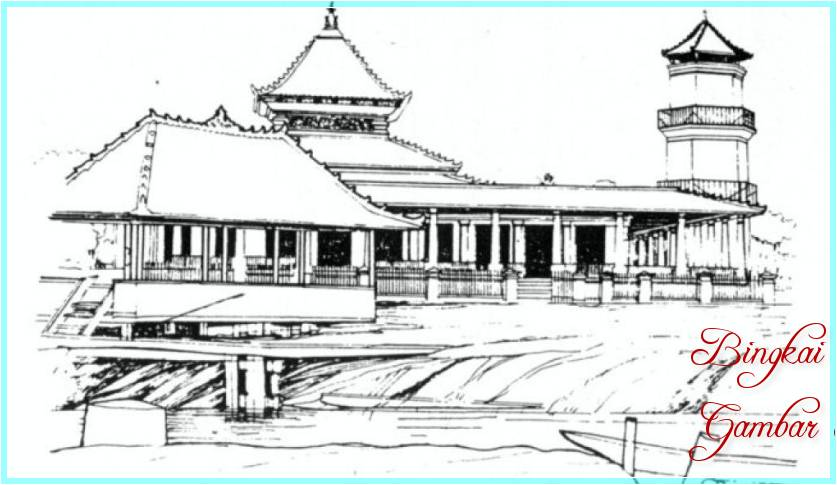 Sketsa Masjid Demak