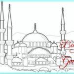 Sketsa Masjid Indah