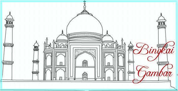 Sketsa Masjid Keren