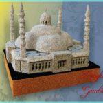 Sketsa Miniatur Masjid