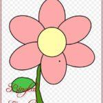 Gambar Bunga Kartun Simple