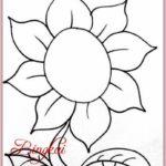 Gambar Bunga Simple Dan Mudah