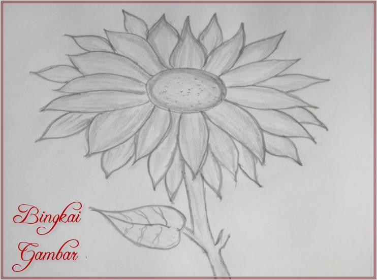 Gambar Bunga Simple Tapi Menarik