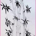 Gambar Sketsa Pohon Bambu Terbaru