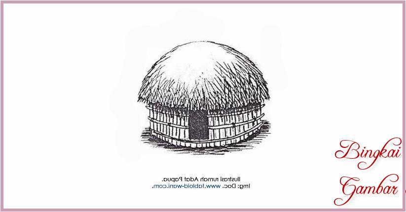 720 Koleksi Gambar Rumah Honai Animasi Gratis Terbaru