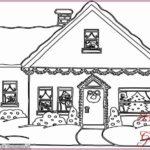 Gambar Sketsa Rumah Kartun