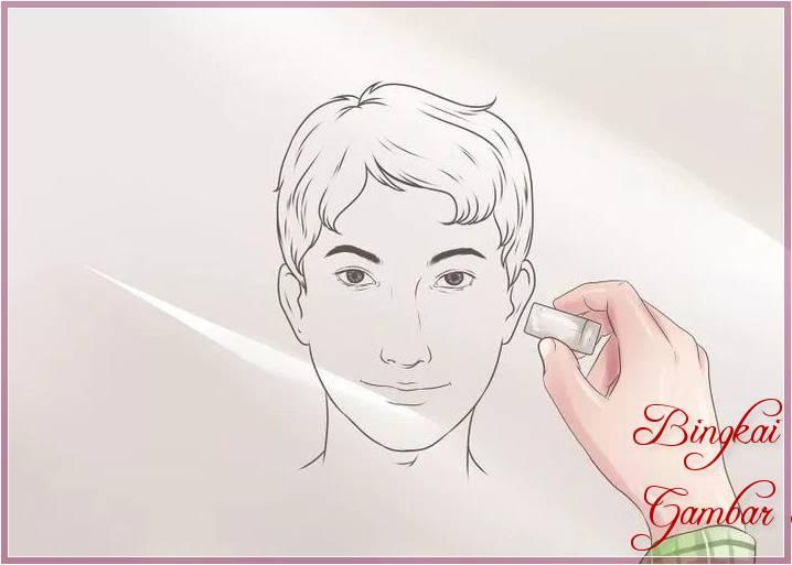35 Gambar Sketsa Wajah Pria Dan Wanita Mudah Di Tiru Bingkaigambarcom