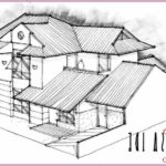 Sketsa Gambar Rumah Hunian