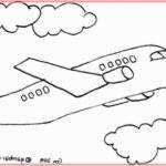 Contoh Sketsa Pesawat