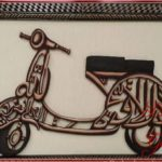 Gambar Kaligrafi Arab Motor Simple