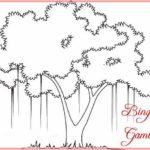 Sketsa Gambar Pohon Cemara Biru