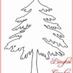 Sketsa Gambar Pohon Cemara Kartun