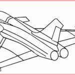 Sketsa Pesawat Tempur