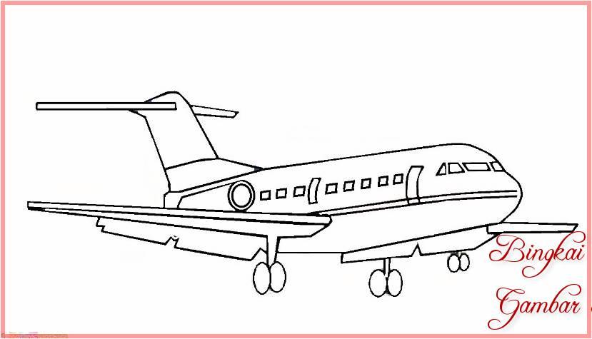 Sketsa Pesawat Udara
