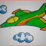 Sketsa Warna Pesawat