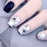 Gambar Nail Art Bunga