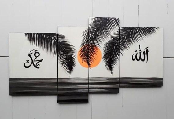 Kaligrafi Buat Dinding Rumah