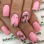 Nail Art Bunga Sederhana