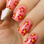 Nail Art Gambar Bunga