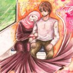 Foto Kartun Islami Yang Romantis