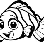 Gambar Sketsa Ikan Nemo