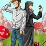 Kartun Islami Yang Romantis