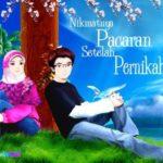 Kartun Muslim Muslimah Romantis