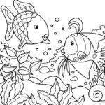 Sketsa Gambar Keindahan Bawah Laut